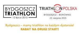 Dla zawodników Bydgoszcz Triathlon